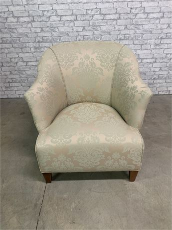 Ethan Allen Upholstered Chair with Pillow