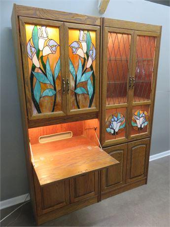 Oak Wall Cabinets