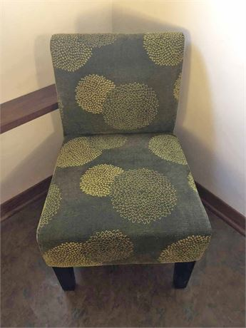 Dwell Curved Accent Slipper Chair