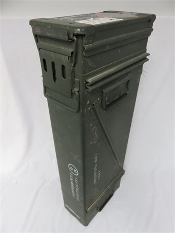 O.D. Green Military Surplus 120mm Mortar Box