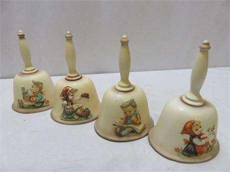 1979-81 Vintage M.I. HUMMEL Annual Bell Collection