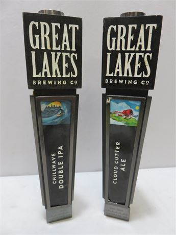 GREAT LAKES BREWING CO. Beer Tap Handles