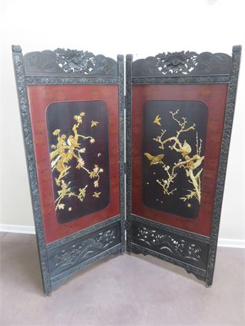 Asian 2-Panel Wall Screen