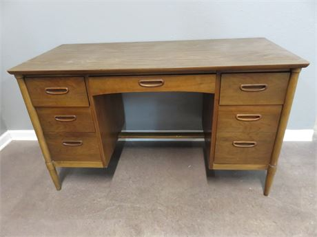 LANE Mid-Century Kneehole Desk