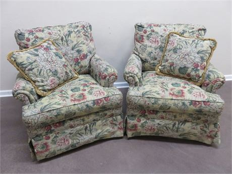 ETHAN ALLEN Arm Chairs