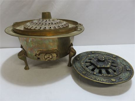 Vintage Middle Eastern Braziers