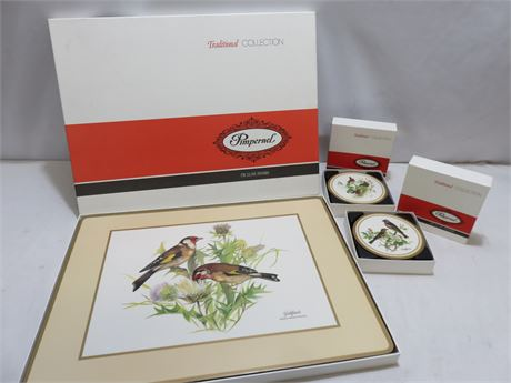 PIMPERNEL Wildlife Bird Placemat & Coaster Sets
