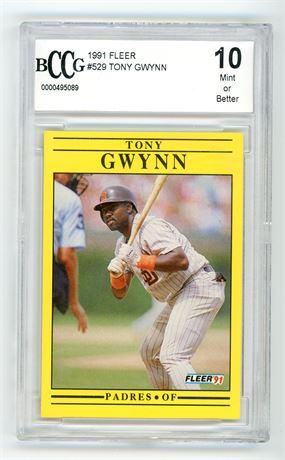 1991 Fleer Tony Gwynn BCCG 10