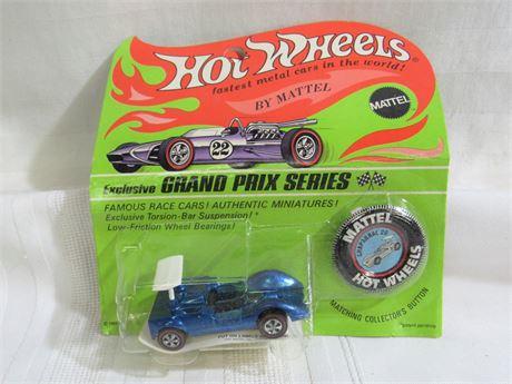 1969 Mattel Hot Wheels RedLine Grand Prix Series - Chaparral 2G - NIP