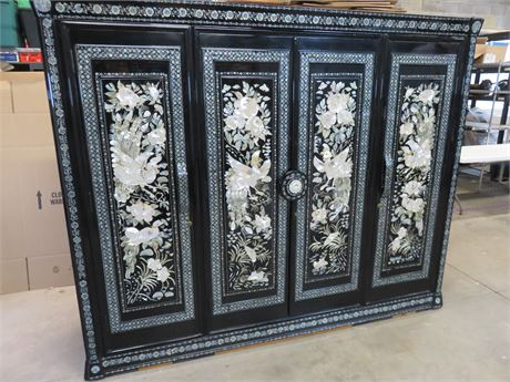 Asian Style Wardrobe Armoire