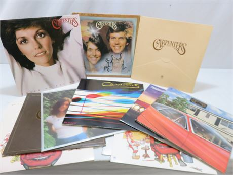 Vintage CARPENTERS Record Album Lot