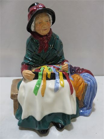 Vintage 1948 ROYAL DOULTON Silks and Ribbons Figurine