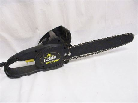 """14"""" MCCULLOCH 1.5 HP ELECTRIC CHAINSAW"""