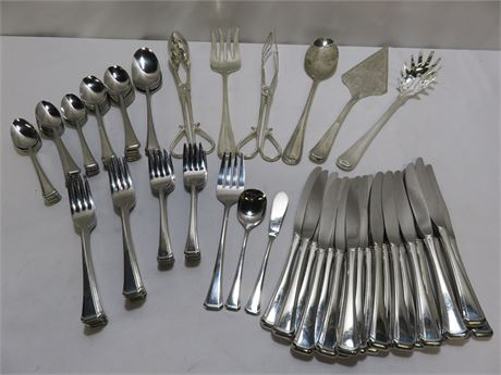 Assorted Stainless Flatware Lot