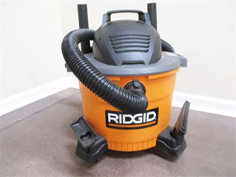9-GALLON RIDGID WET/DRY VAC