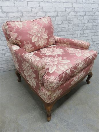Vintage HERITAGE Mid-Century Upholstered Arm Chair