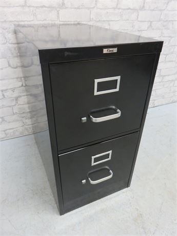 Metal 2-Drawer Filing Cabinet