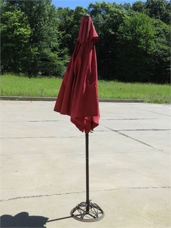 8 Ft. Patio Umbrella with Stand