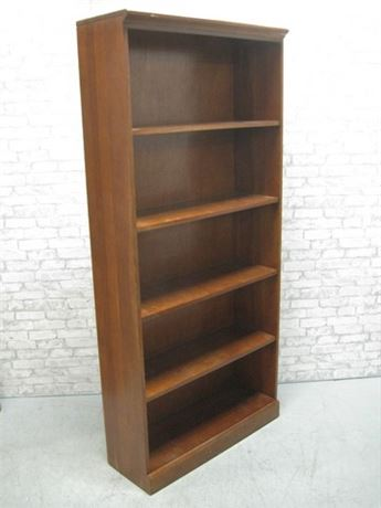 5 SHELF DISPLAY/BOOKCASE