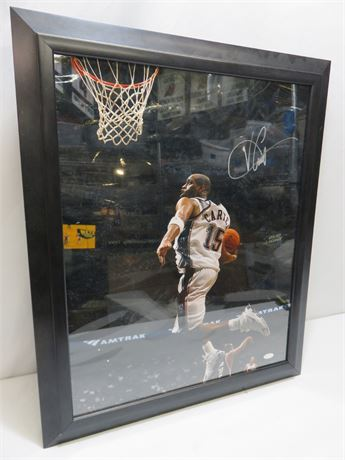 VINCE CARTER Signed 16X20 Photo w/STEINER Certificate of Authenticity