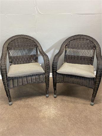 Wicker/Rattan Patio Chairs