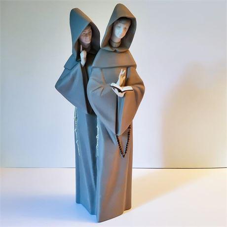 "Lladro Figurine ""Monks at Prayer"" #15155"