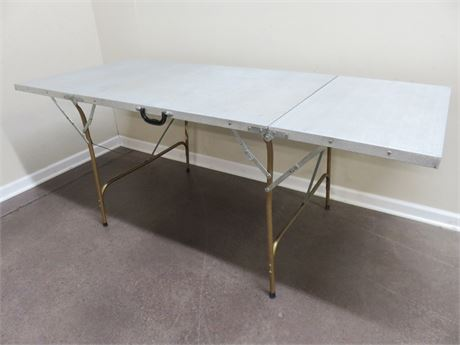 6-Foot Aluminum Folding Table