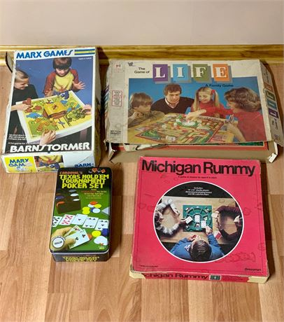 Vintage 1970's Marx Game