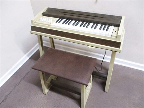VINTAGE ESTEY ELECTRIC ORGAN