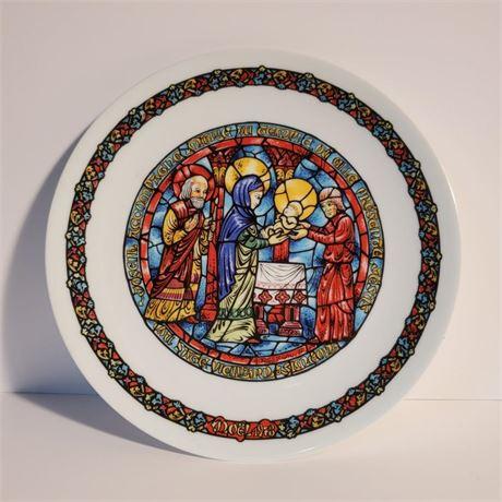 """D'Arceau Limoges """"La Purification"""" Collector Plate"""