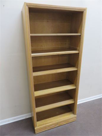 BRANDT Ranch Oak Bookcase