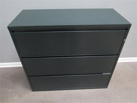 3-Drawer Metal Lateral File Cabinet