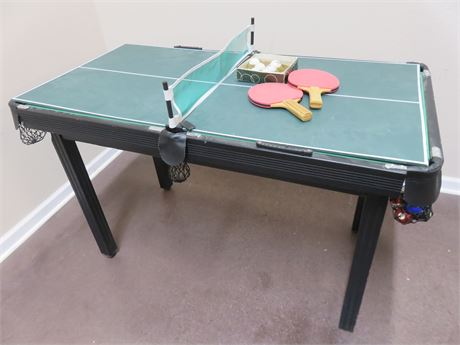 Small-Sized 2-in-1 Game Table