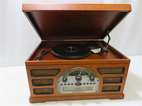 CROSLEY Rochester 5-in-1 Stereo Turntable Sound System
