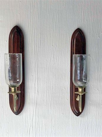 Home Interiors Wall Sconce Candle Holders
