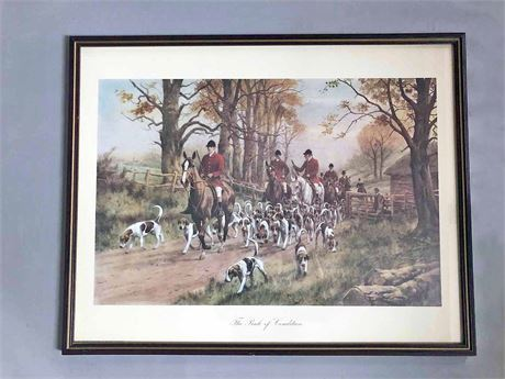 Signed George Wright Framed Print