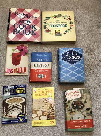 Vintage & Mid Century Cookbook Collection
