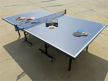 AMERICAN HERITAGE Drop Shot Ping Pong Table