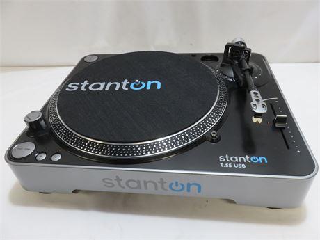 STANTON T.55 USB Belt Drive Turntable