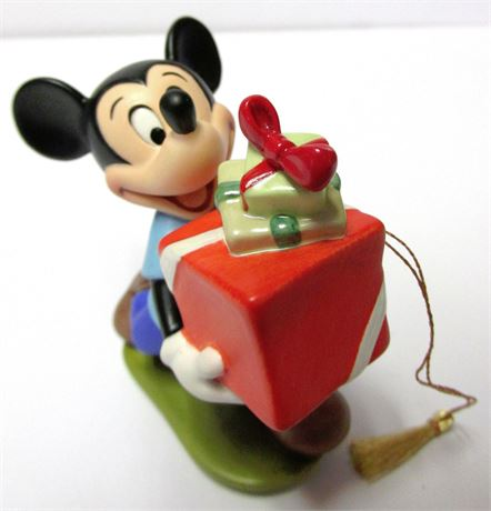 """1995 Mickey Mouse """"Presents For My Pals"""" Ornament"""
