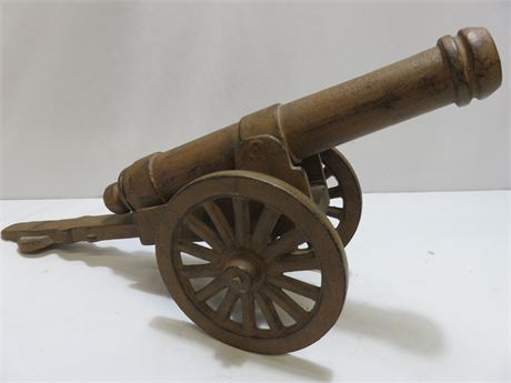 Cast Iron Civil War Replica Cannon