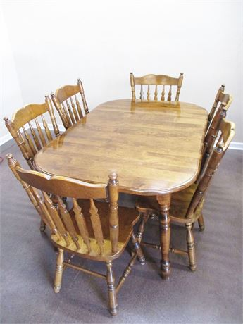 FRUITWOOD DINING SET