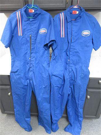 Vintage Sohio Gas Station Attendant Jumpsuits