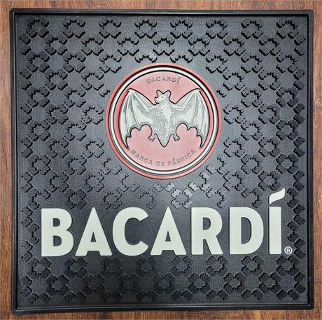 Large Brand New Bacardi Bar Matt