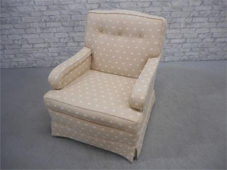 VERY NICE LANE UPHOLSTERED OCCASIONAL CHAIR