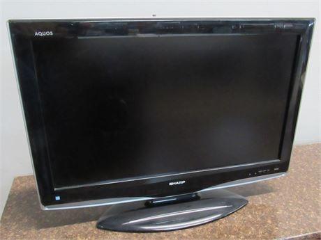 "Sharp Aquos 32"" LCD Flat Panel TV"