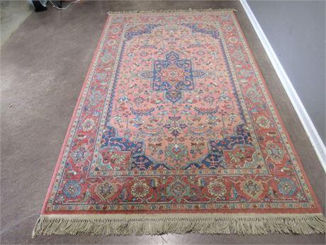 Karastan Medallion Serapi 100% Wool Oriental/Asian Rug