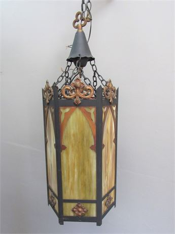 Large Antique Gothic Style Chandelier