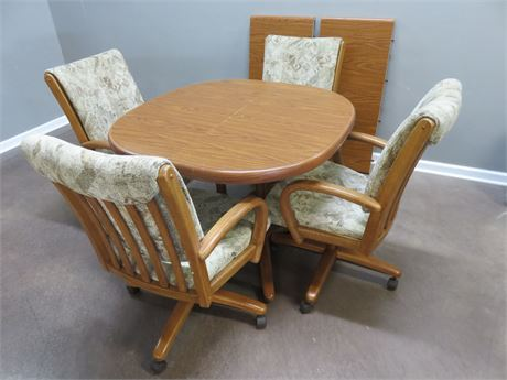 CHROMCRAFT Oak Dinette Set