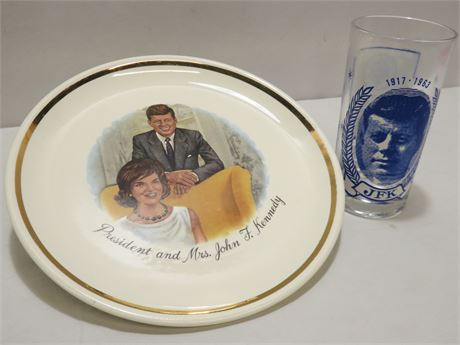 Vintage Mid-Century John F. Kennedy Collectibles